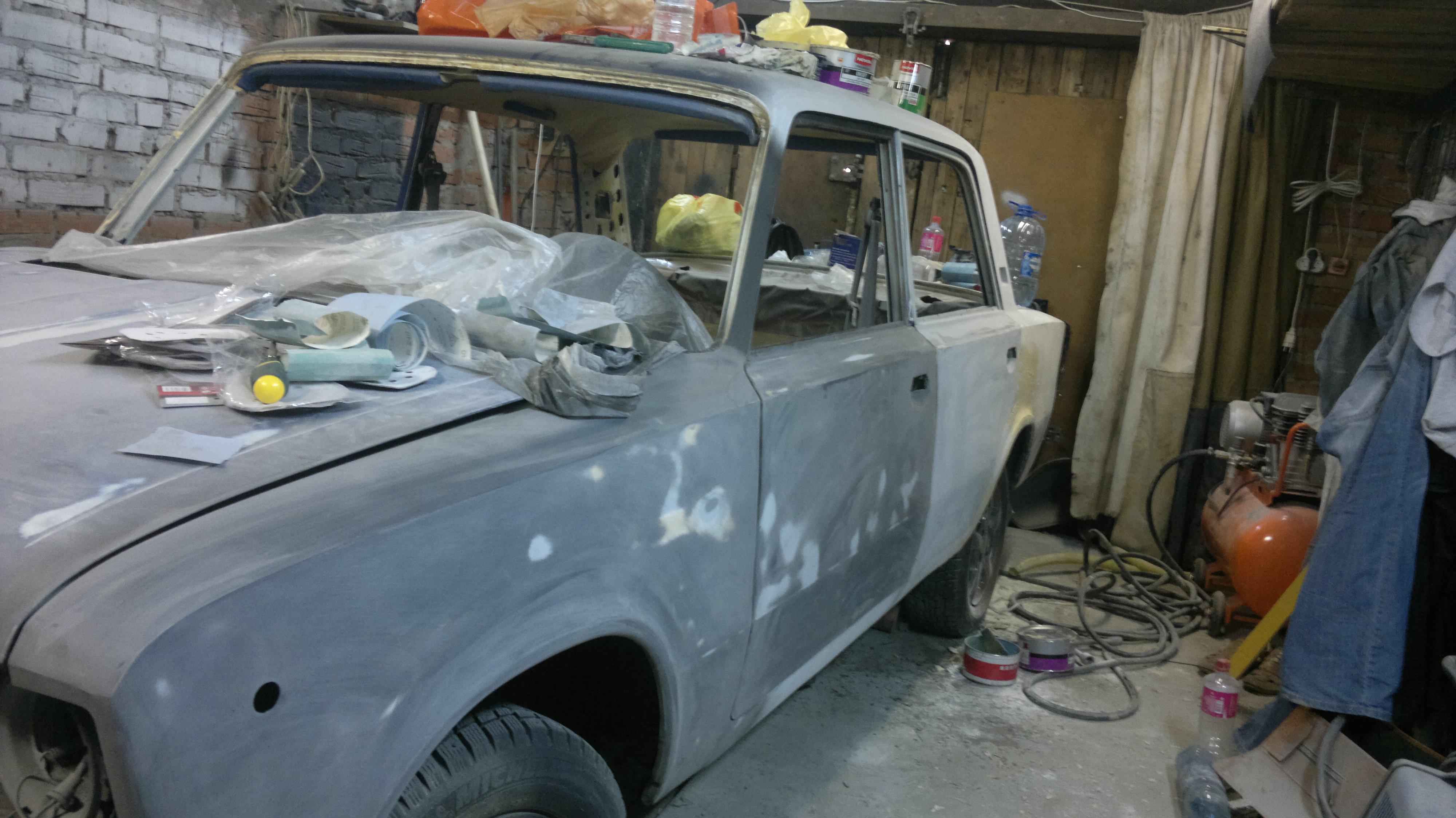 Ремонт машины ваз 2106 своими руками