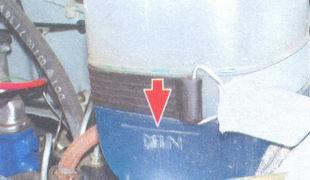 Фото №11 - уровень тосола в расширительном бачке ВАЗ 2110