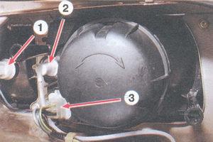замена блок-фары на автомобиле ваз 2108, ваз 2109, ваз 21099 замена ламп