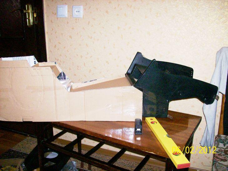 Центральная консоль своими руками фото