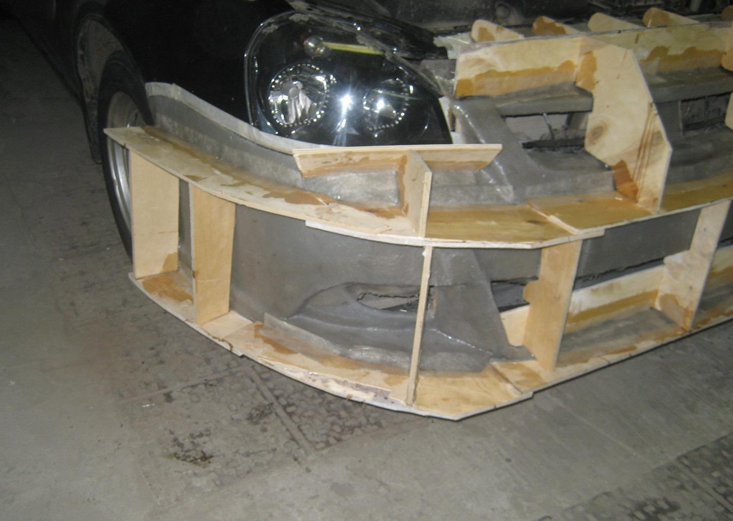Как сделать бампер своими руками для собственного автомобиля? 64