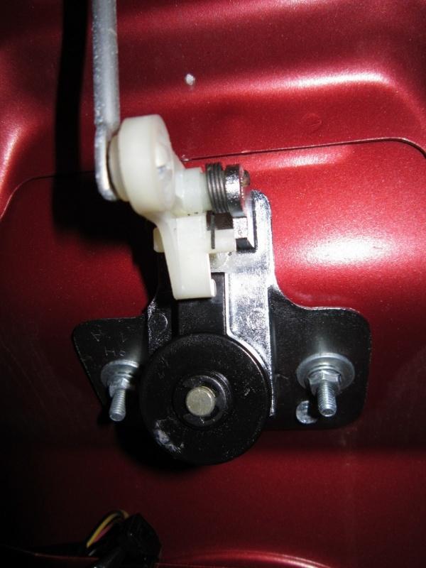 установка активатора в багажнике 2115