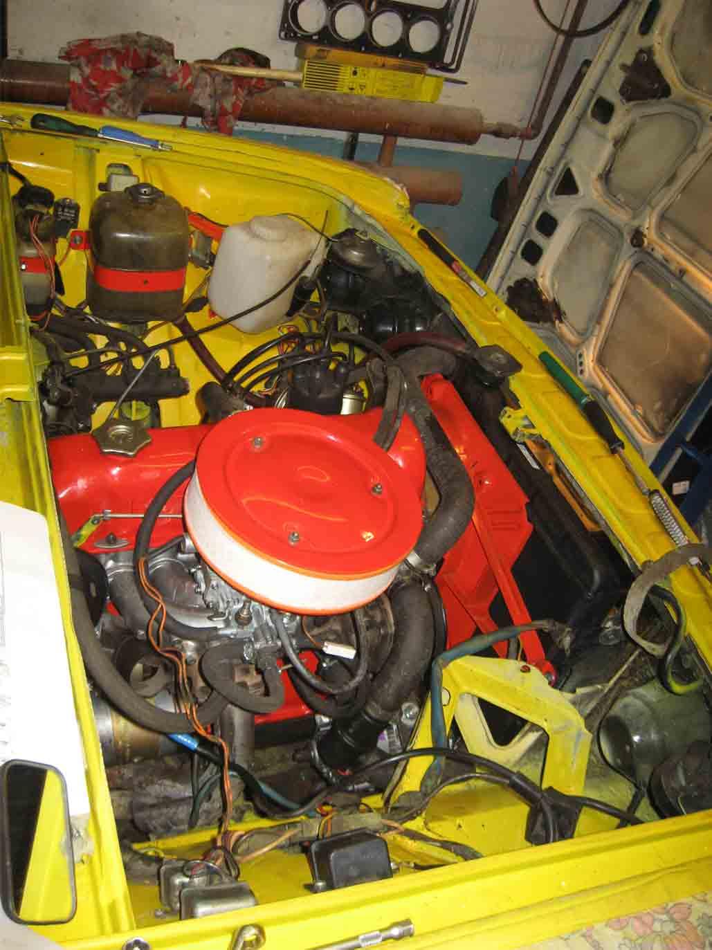 Ваз 2106 с двигателем от ваз 2107